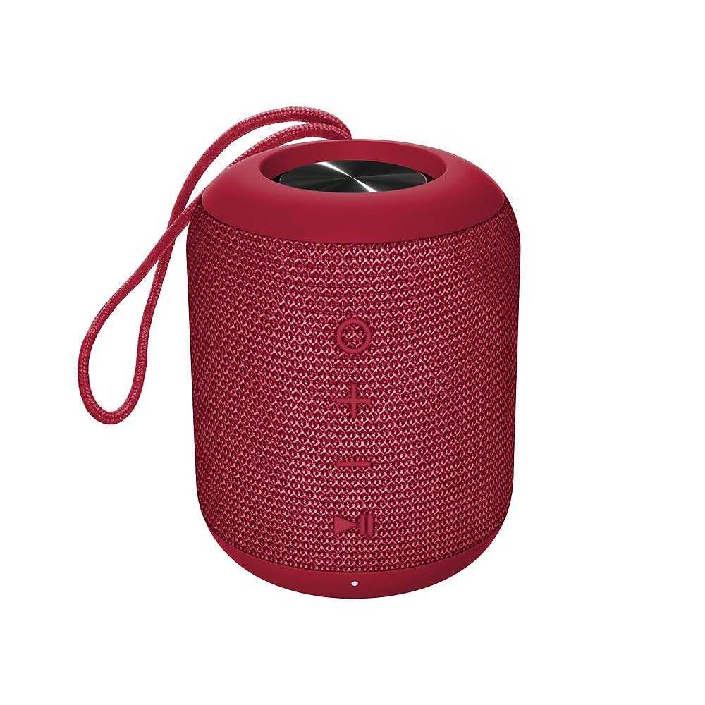 Kami Koto Waterproof Wireless Bluetooth Speaker - Red
