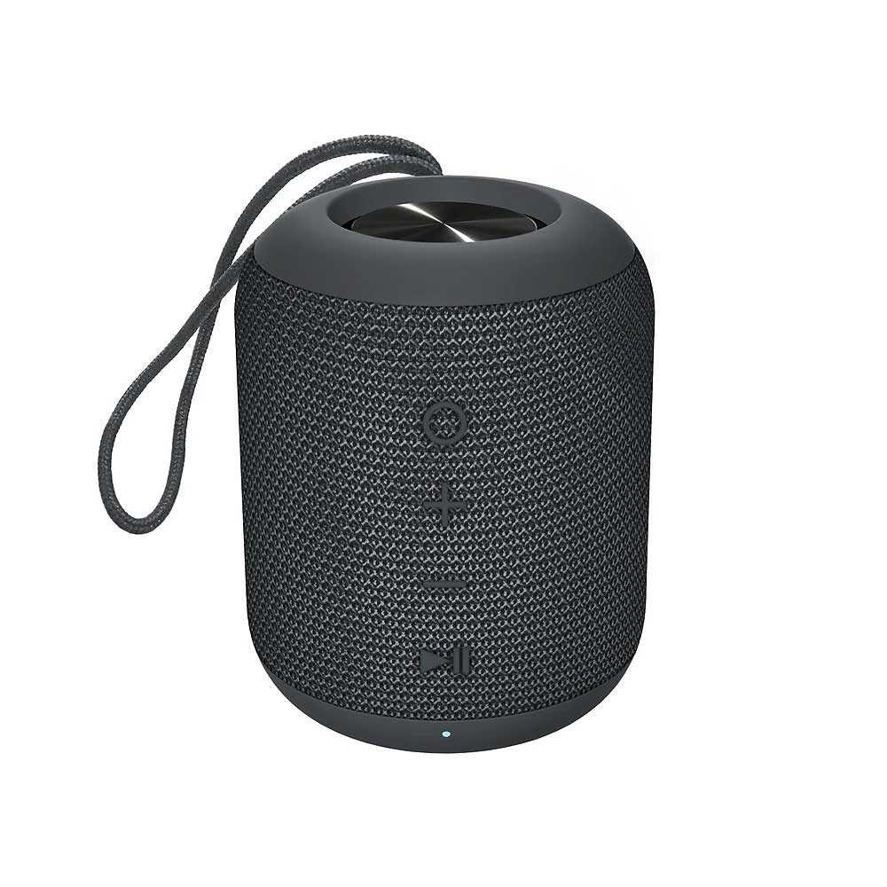 Kami Koto Waterproof Wireless Bluetooth Speaker - Charcoal