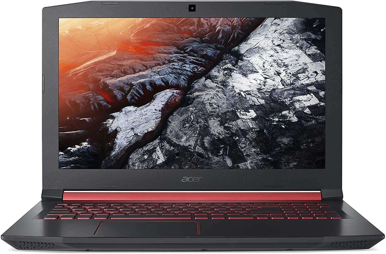 Acer Nitro 5 Gaming Laptop With 15.6 Inch Display, Core i7 Processor/12GB RAM/2TB+128GB SSD Hybrid Drive/4GB Nvidia GeForce GTX 1050 Black