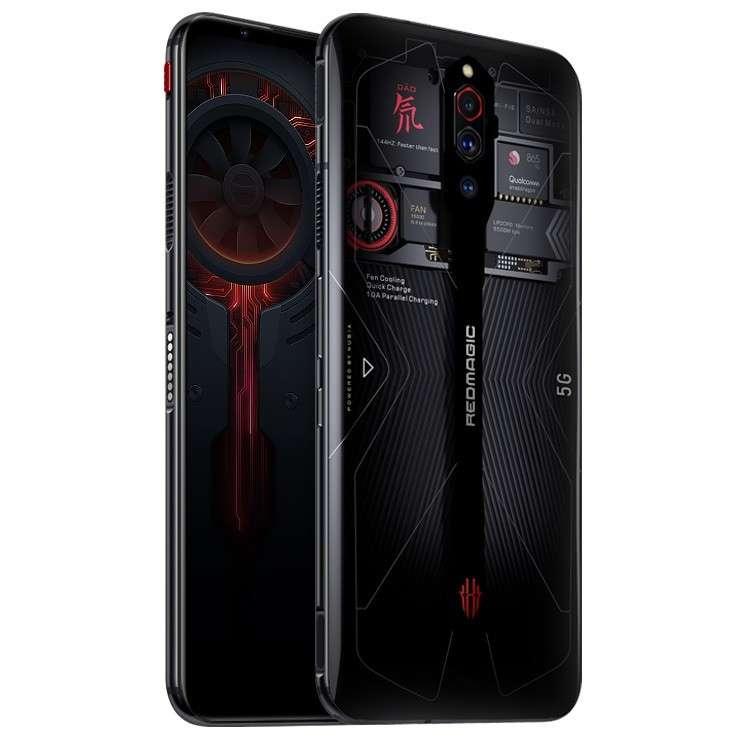 ZTE Nubia Red Magic 5G Dual SIM 12GB RAM 256GB - Transparent