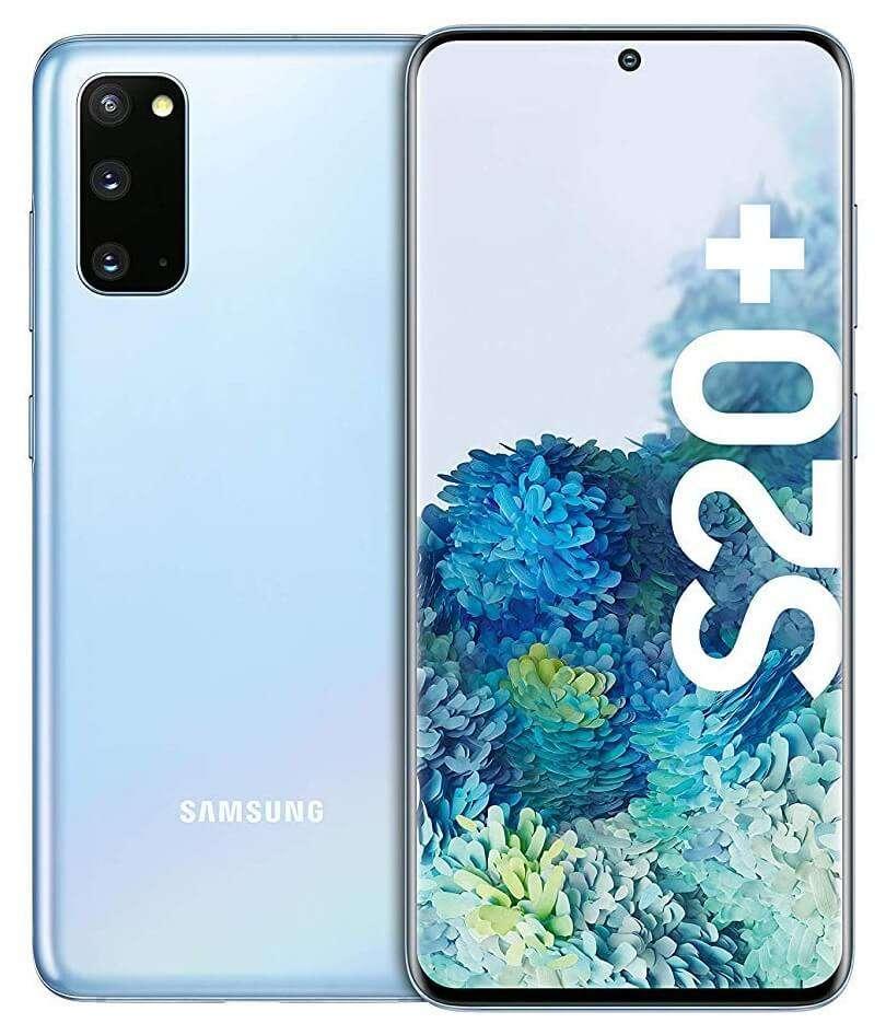 Samsung Galaxy S20+ 5G, 12GB RAM, 256GB, Cloud Blue