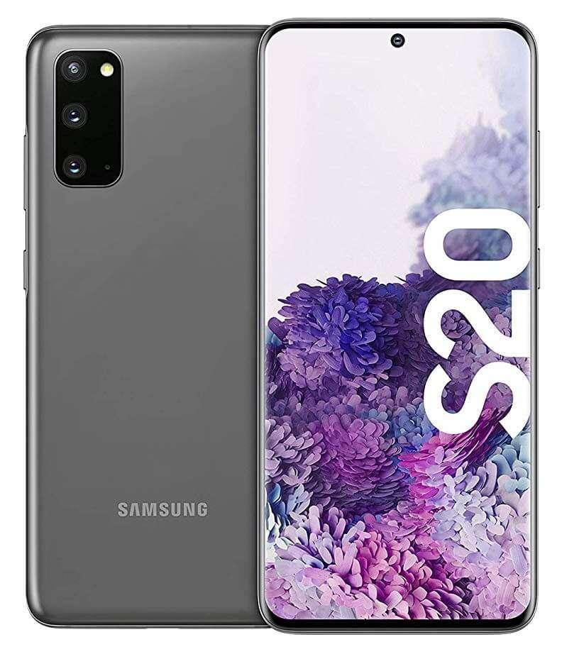 Samsung Galaxy S20 Dual Sim - 128GB, 8GB, 4G LTE, Cosmic Gray
