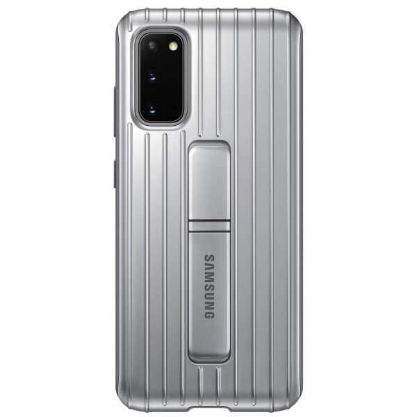 Samsung Protective Standing Cover for Galaxy S20, Silver
