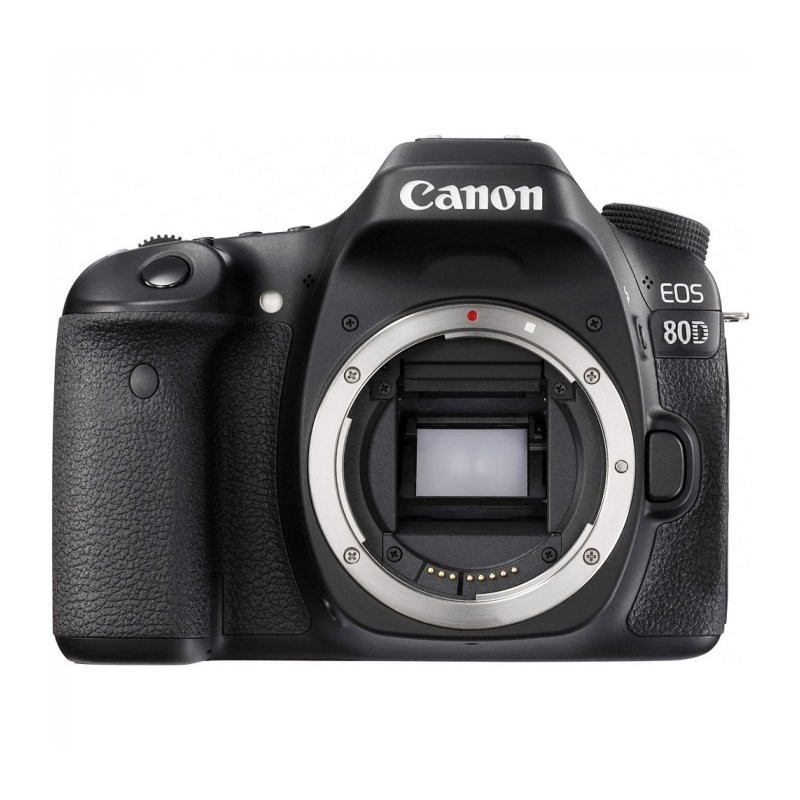 Canon EOS 80D DSLR Camera Body Only (Black)