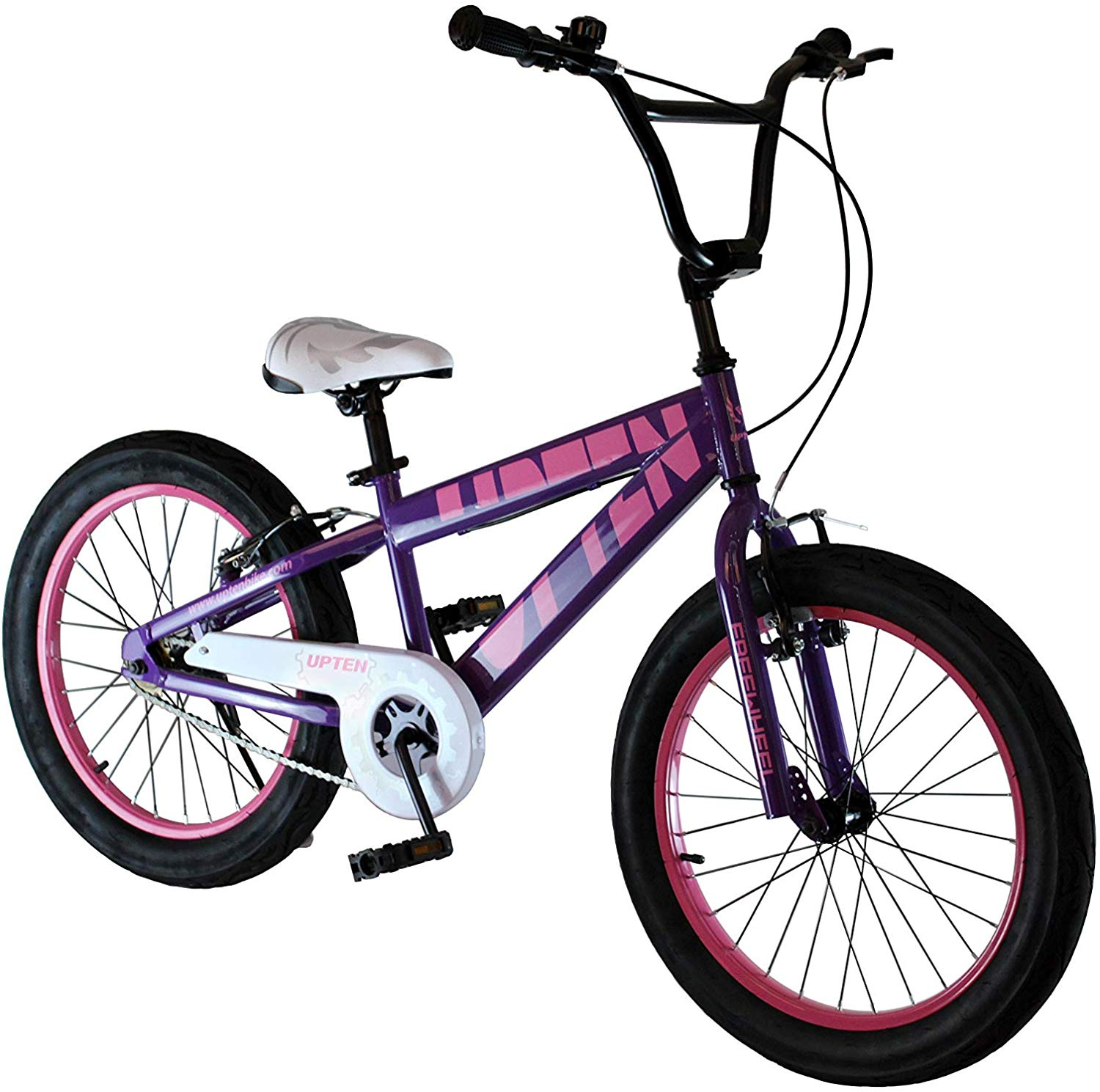 UPTEN Freewheel Bike 20-Inch Purple