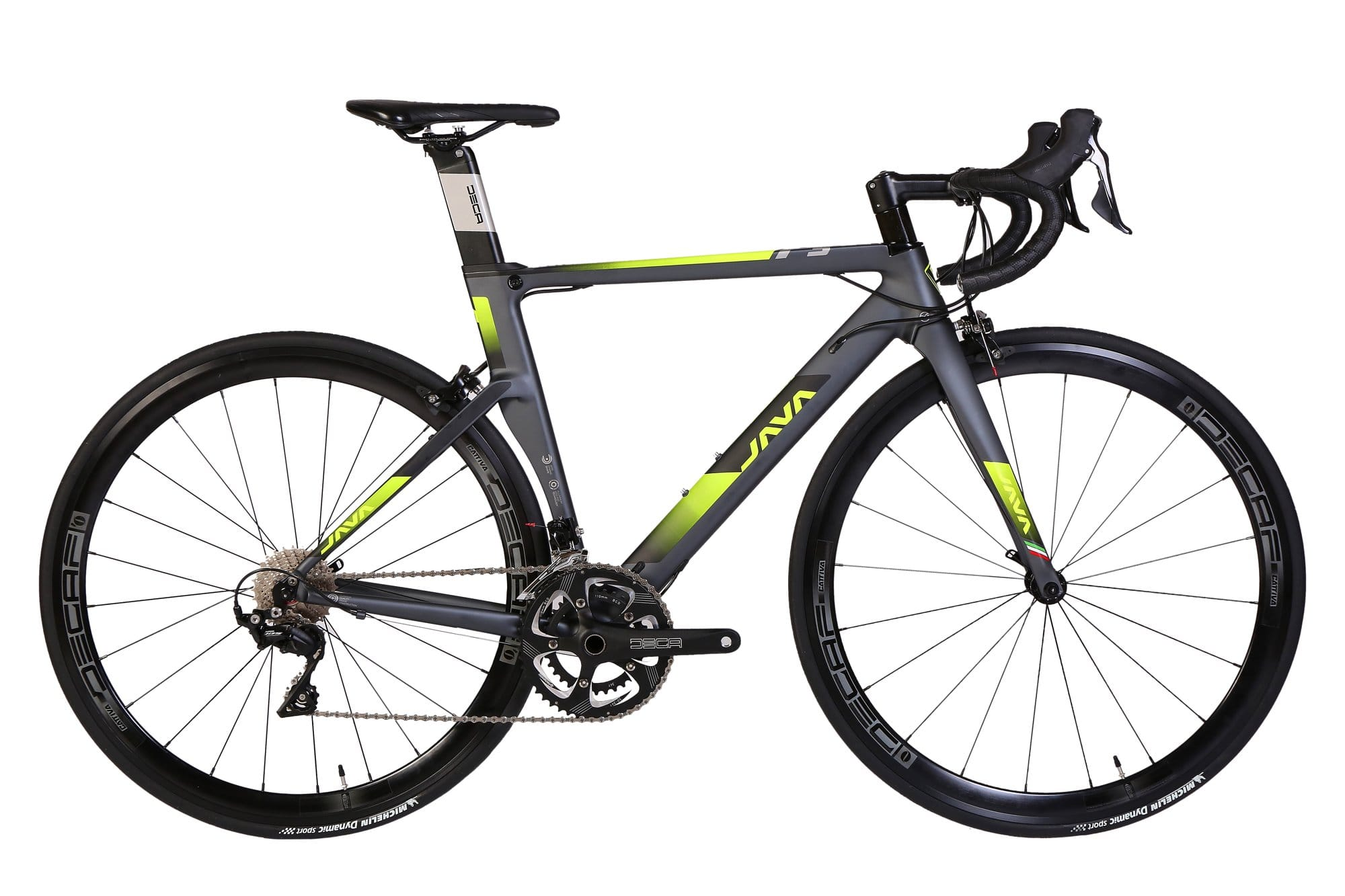 JAVA Fuoco 3 Road Bike 28-Inch Grey