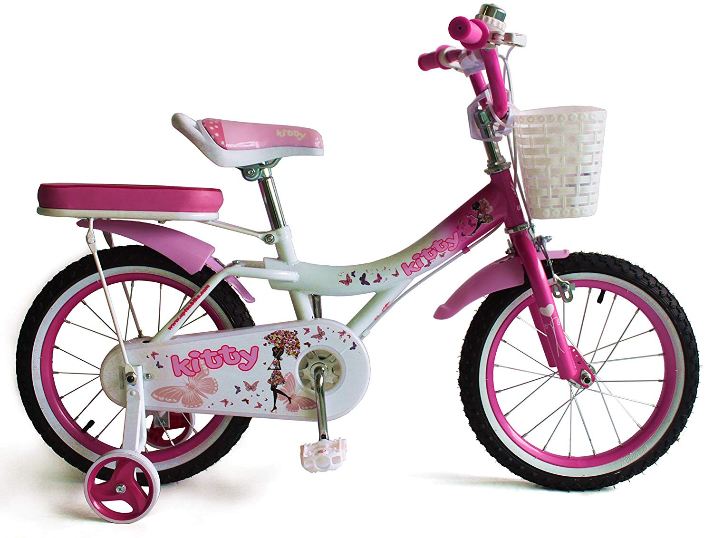 UPTEN Kitty Bike - 18 Inch Pink