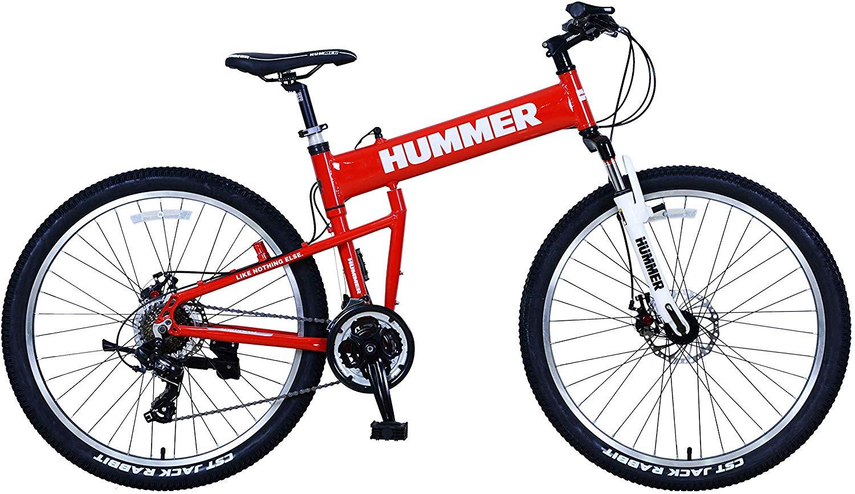 UPTEN Hummer Mountain Bike - 26 Inch Red