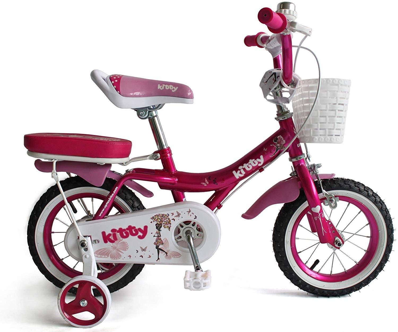 UPTEN Kitty Bike 18 Inch Rose