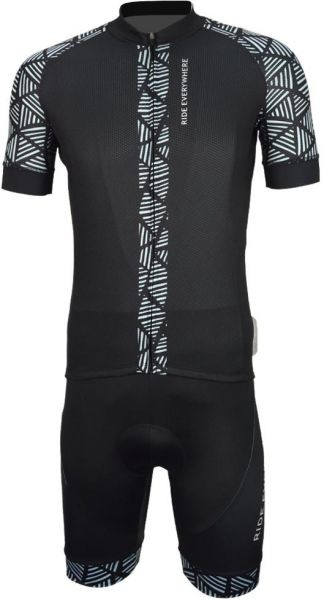 UPTEN Cycling Jersey With Bib Tights - L