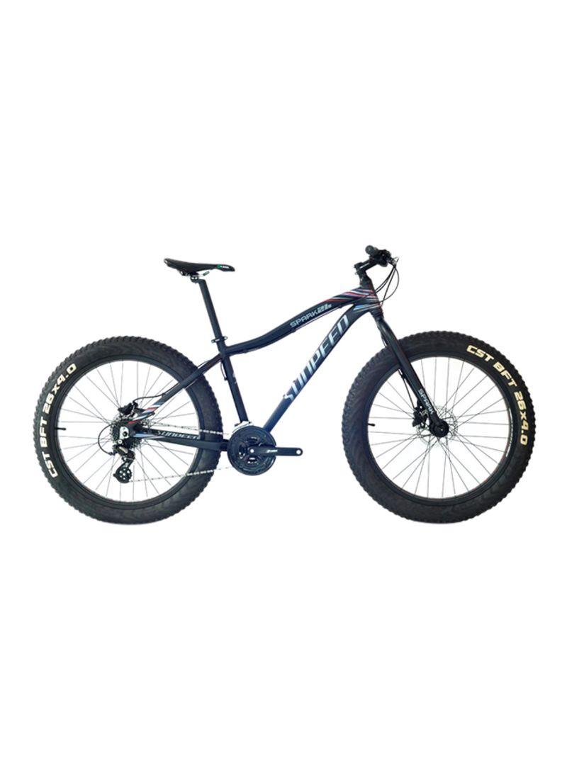 UPTEN Spark Fatboy Mountain Bike - 26-Inch Blue