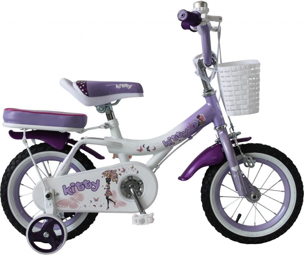 UPTEN Kitty Bike 18-Inch Purple