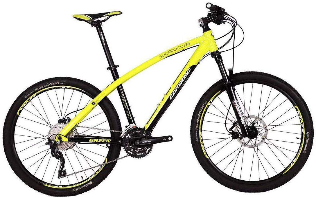 UPTEN Superbow MTB Mountain Bike 26-Inch Yellow