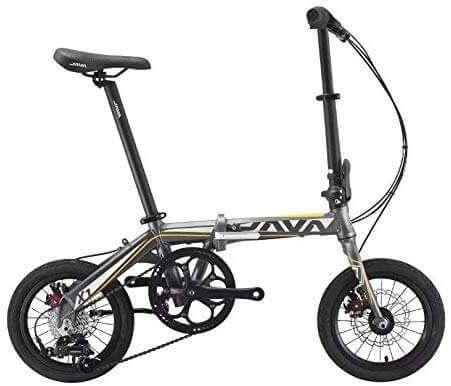 JAVA X1 Foldable Kids Bike 14 inch - Grey