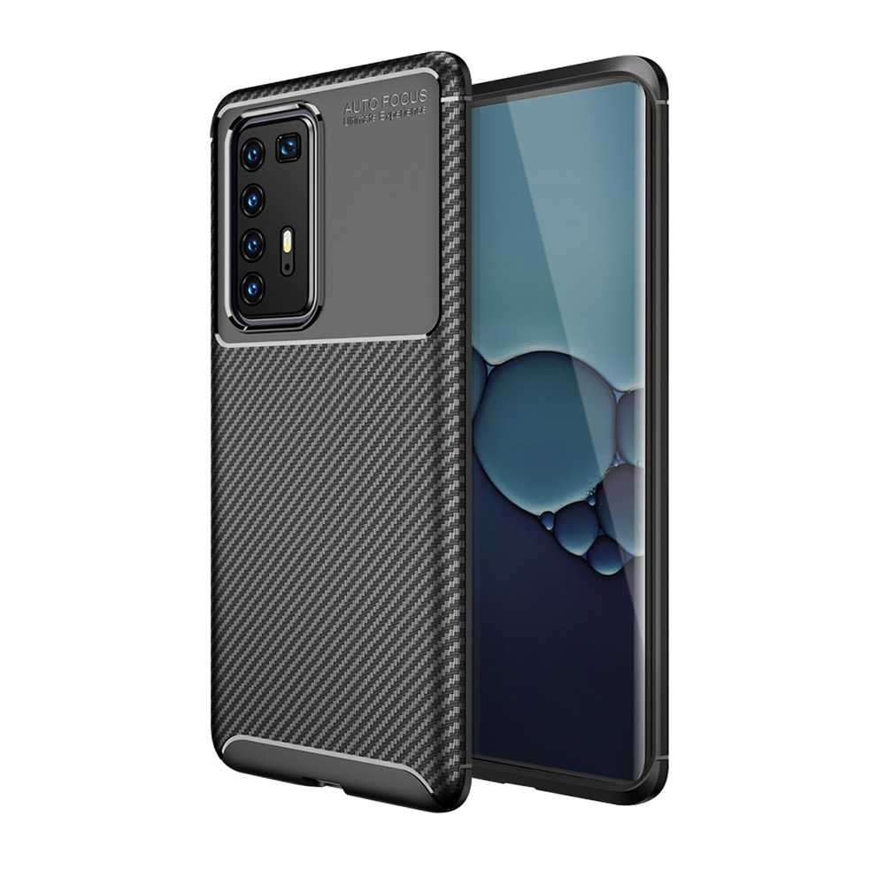 Viva Madrid Vanguard Back Case for Huawei P40 Pro - Carbono Black