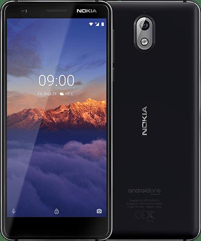 Nokia 3.1 (2018) Dual 2GB/16GB 4G LTE Black Chrome
