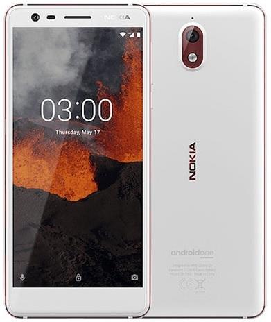 Nokia 3.1 (2018) Dual 2GB/16GB 4G LTE  White Iron