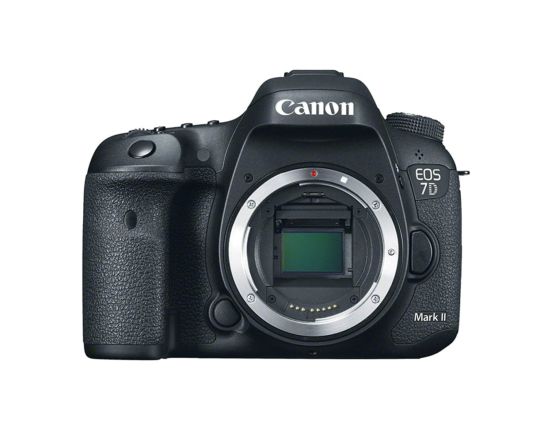 Canon EOS 7D Mark II DSLR Camera Body Only (Black)