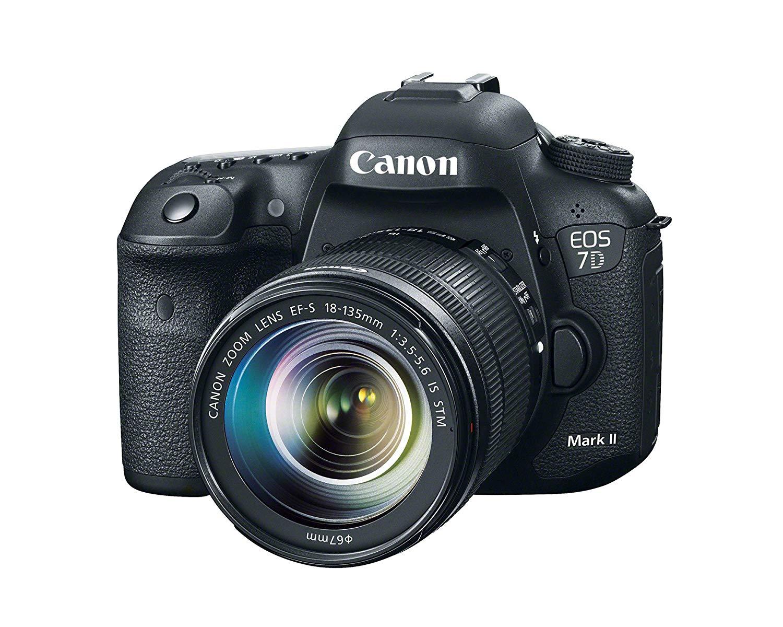 Canon EOS 7D Mark II DSLR Camera with 18-135mm f/3.5-5.6 STM Lens (Black)