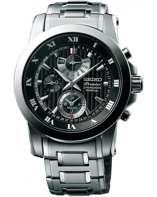 Seiko Premier Chronograph Perpetual Calendar  SPC161P1 Men's Watch