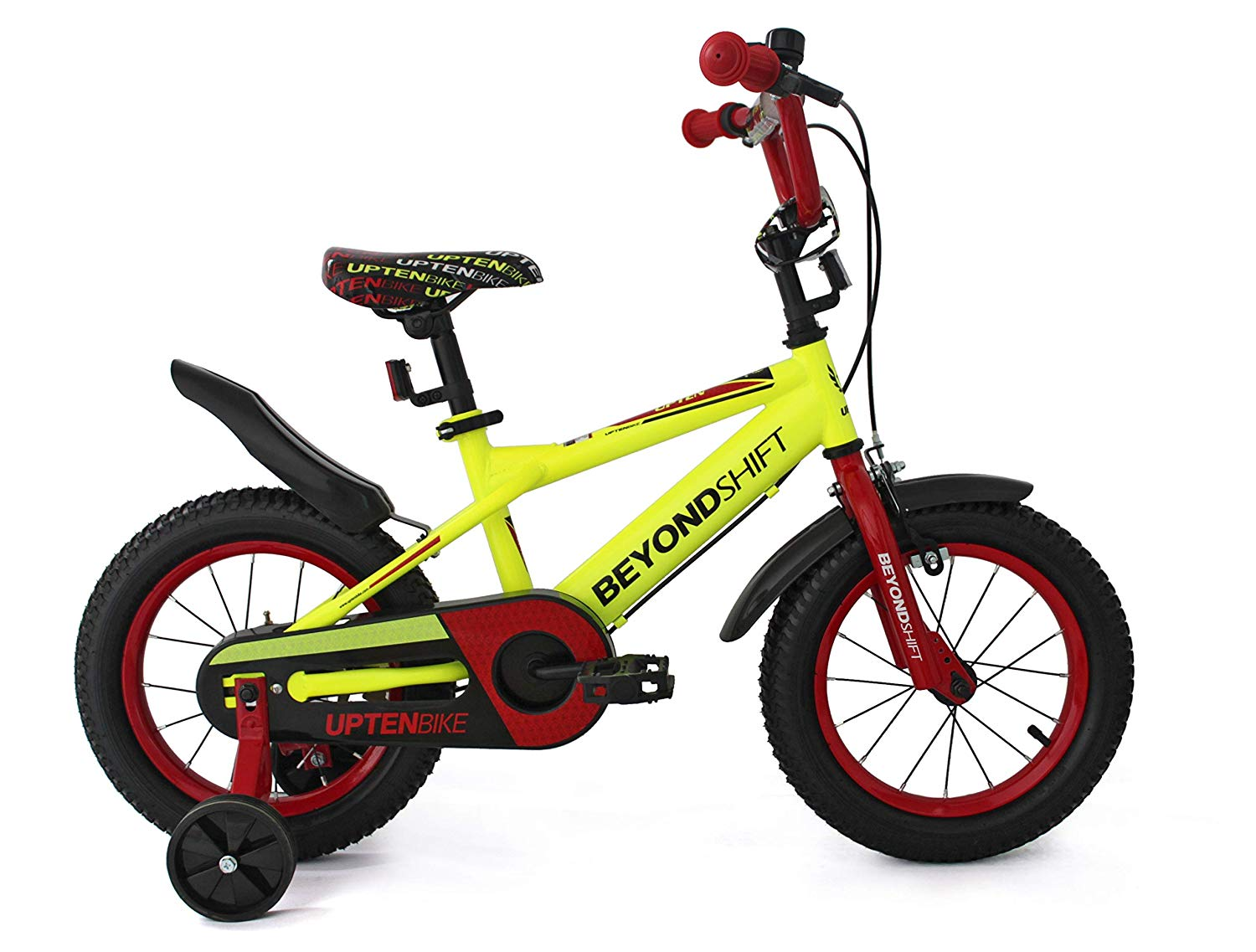 UPTEN Beyond Shift Kids Bike 18-Inch Yellow