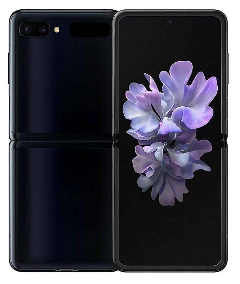 Samsung Galaxy Z Flip, 8 GB RAM, 256 GB, Mirror Black