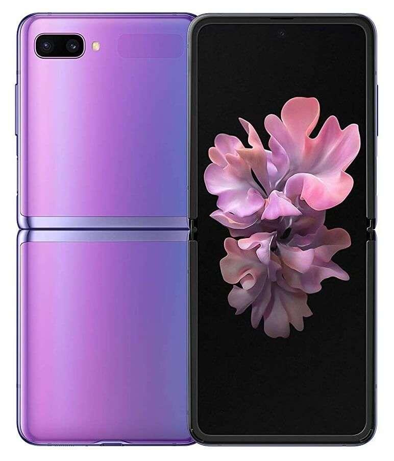 Samsung Galaxy Z Flip, 8 GB RAM, 256 GB, Mirror Purple
