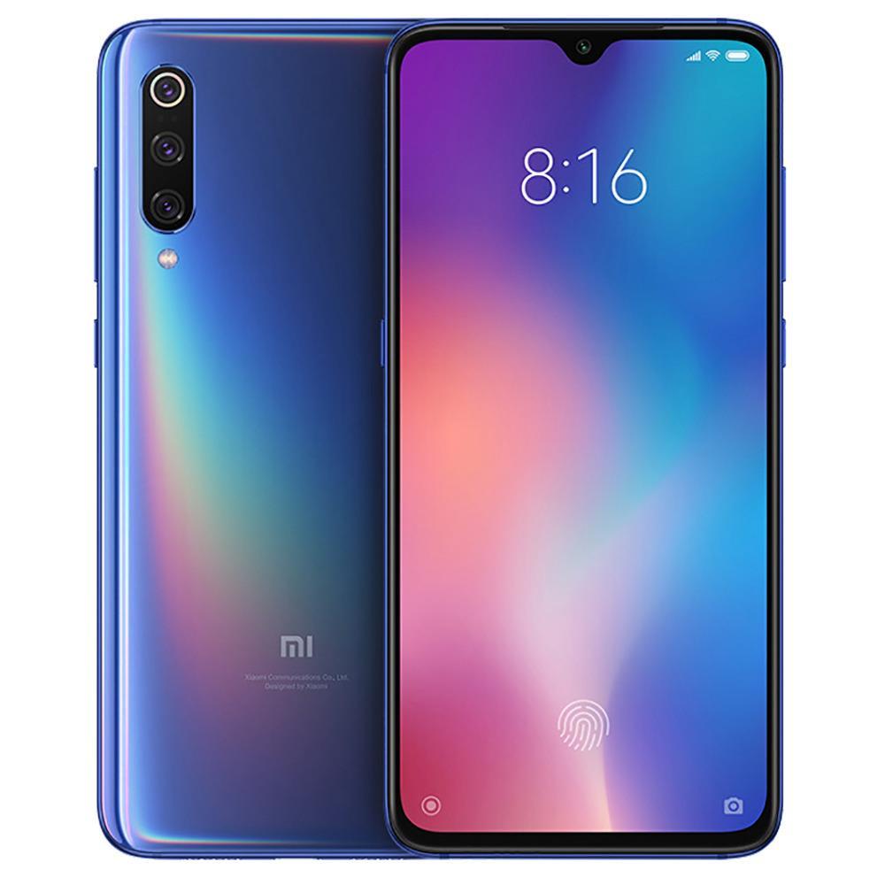 Xiaomi MI 9 Dual SIM - 64GB, 6GB RAM- Global Versia Ocean Blue