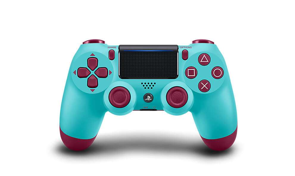 Sony DualShock 4 Wireless Controller For PlayStation 4- Berry Blue