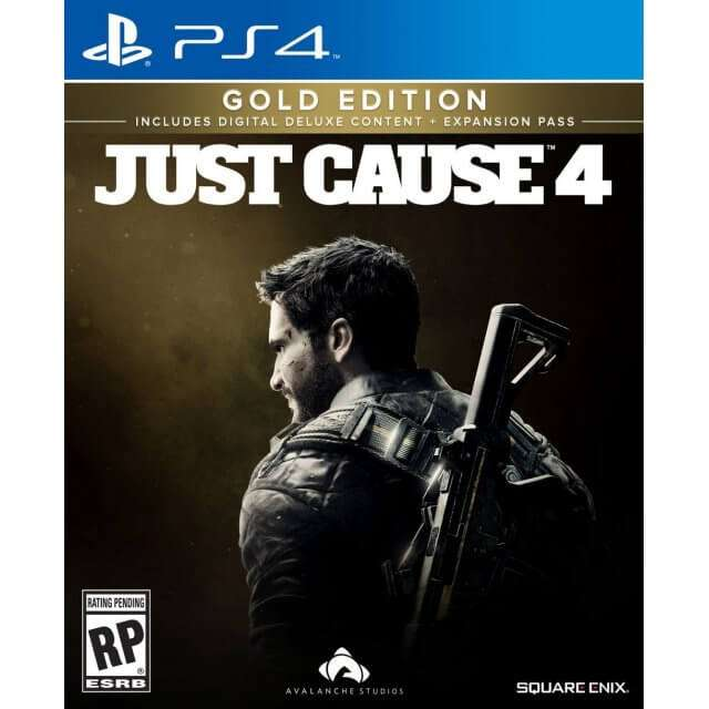 Square Enix Just Cause 4 Gold Edition - PlayStation 4