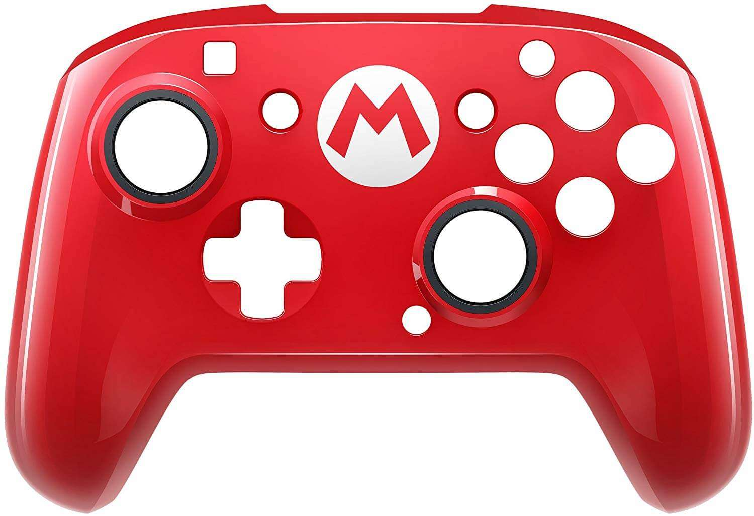PDP Super Mario Faceoff Deluxe Wired Pro Controller - Nintendo Switch