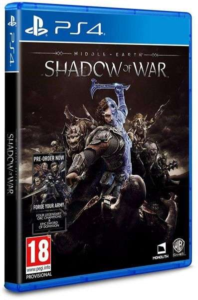 WB Games Middle-earth: Shadow Of War - PlayStation 4